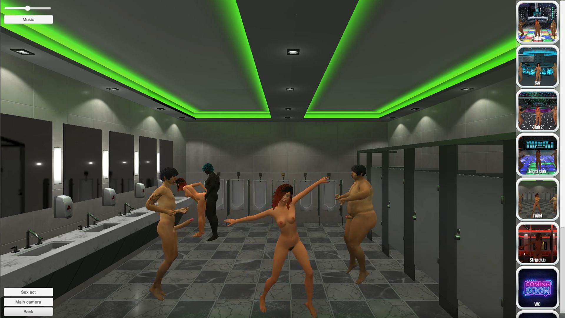 Секс Игра Туалет