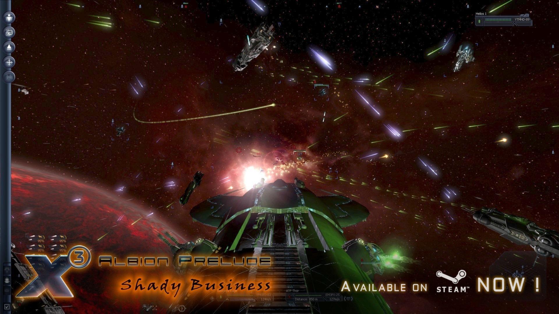 X3: Albion Prelude Screenshot 2