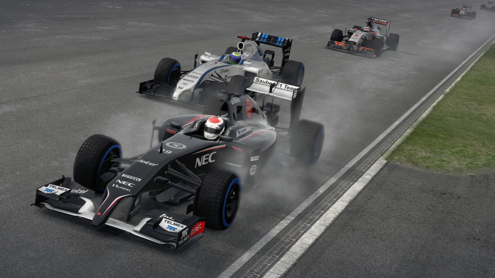 f1 2014 :: 一级方程式赛车 2014