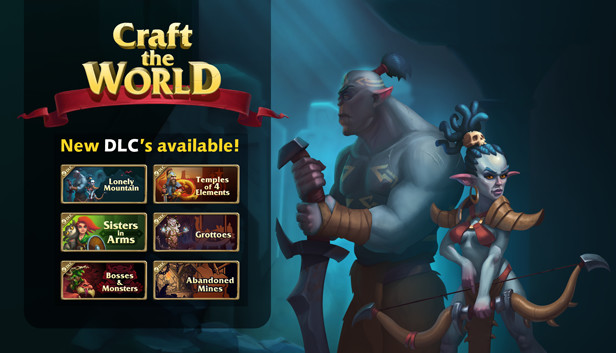Download Craft The World download free