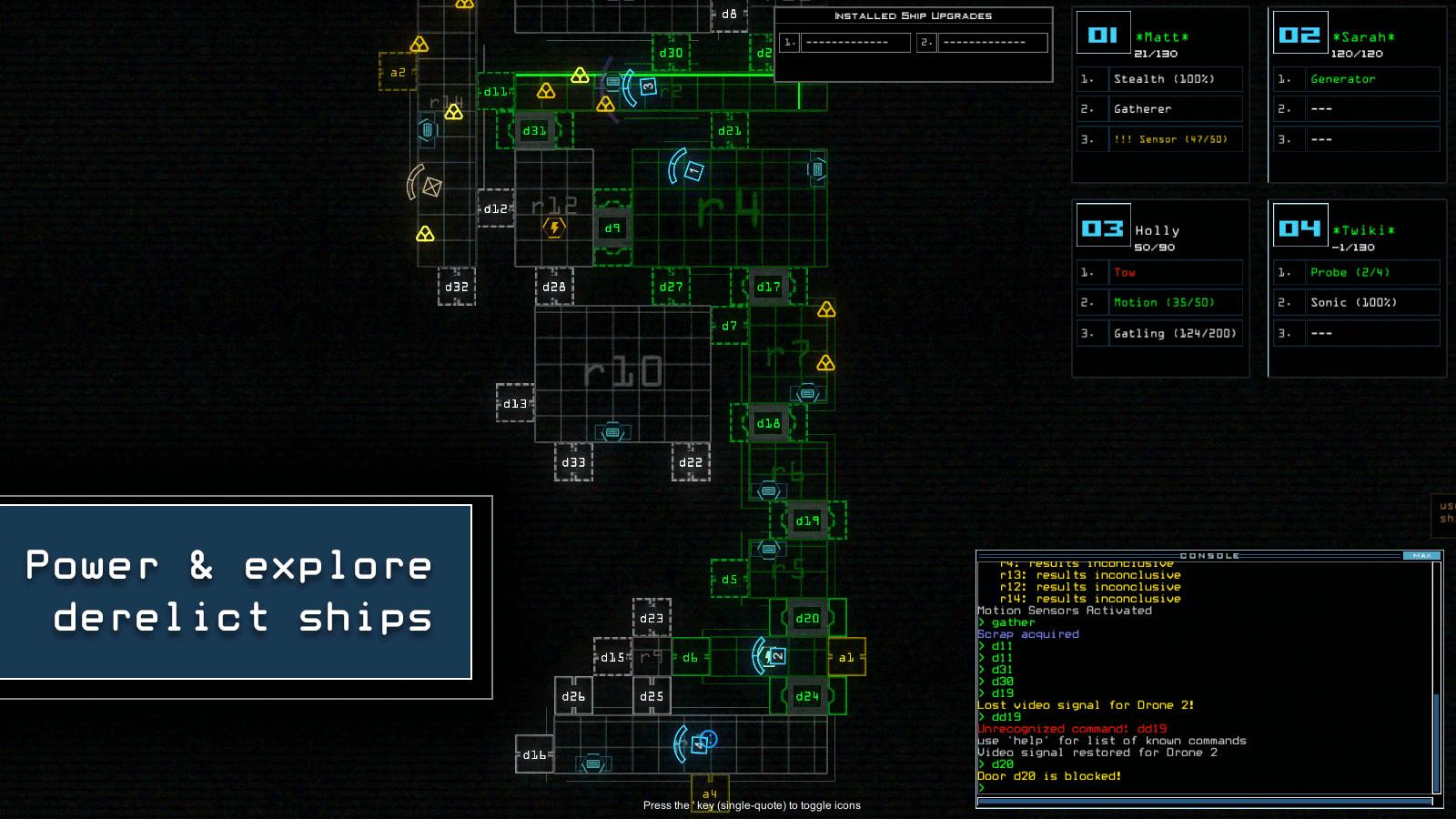 Duskers Screenshot 2