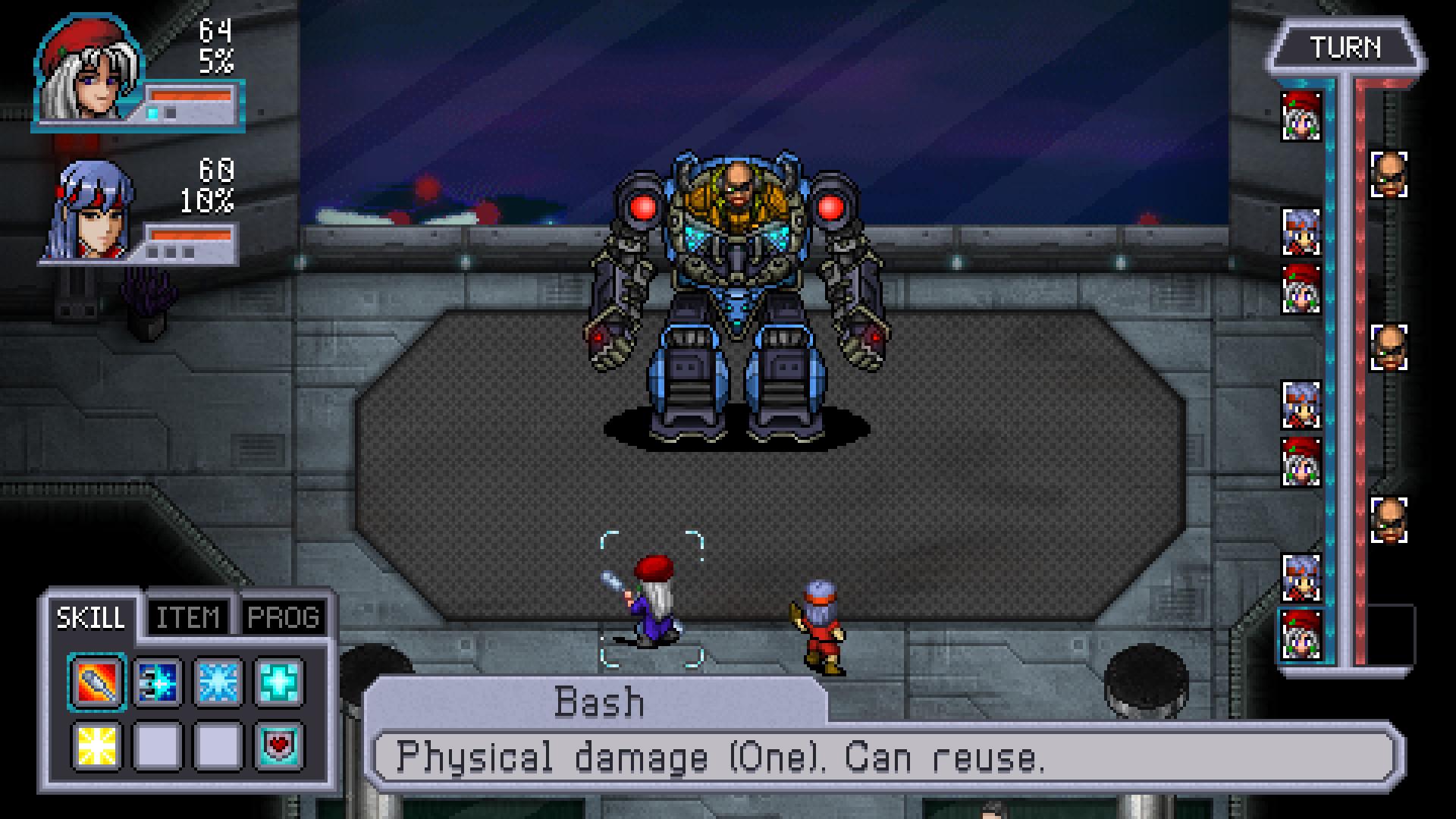Cosmic Star Heroine Screenshot 1