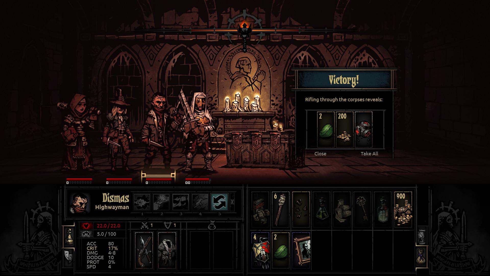 Darkest Dungeon Screenshot 2