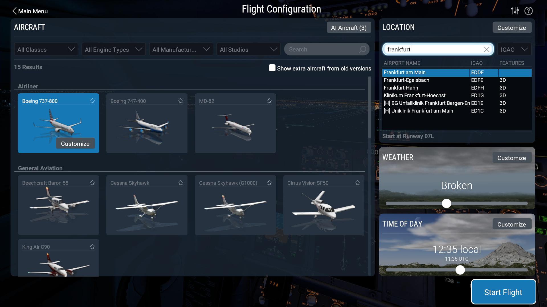 X-Plane 11 Screenshot 2