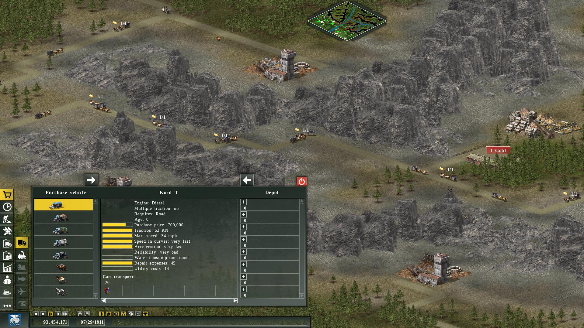 Transport Giant: Steam Edition Screenshot 2