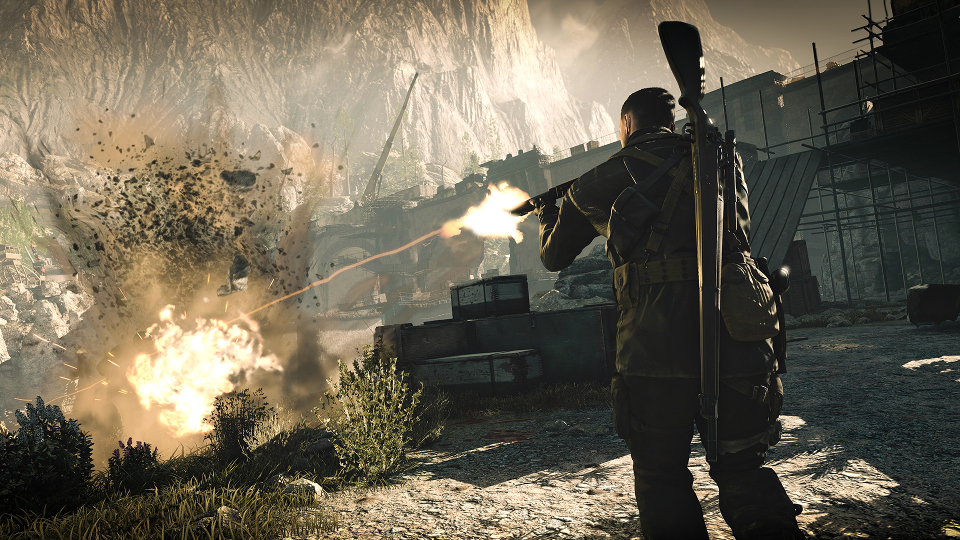 Sniper Elite 4 Screenshot 2