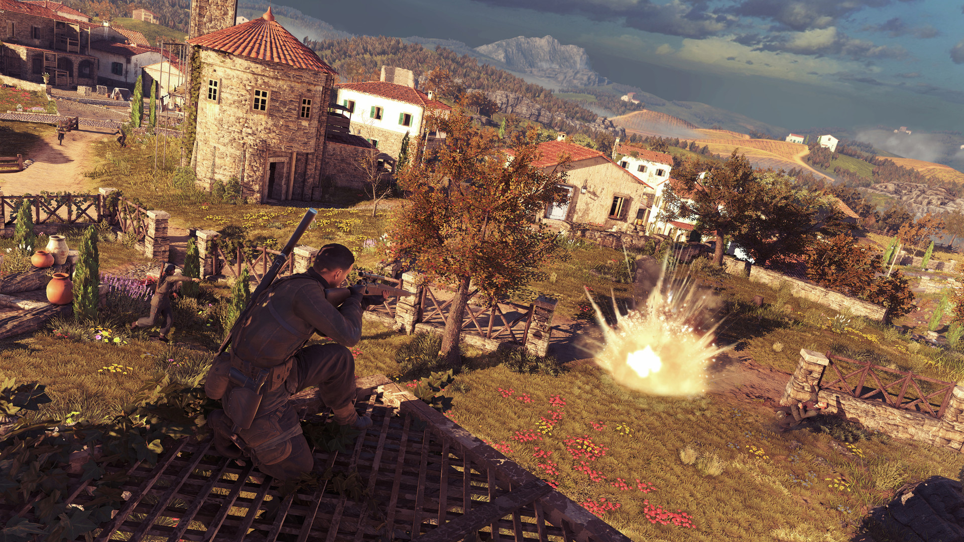 Sniper Elite 4 Screenshot 1