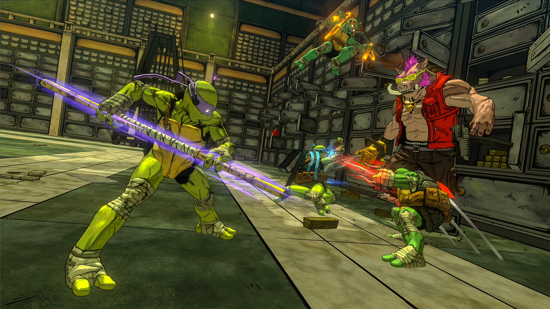Teenage Mutant Ninja Turtles: Mutants in Manhattan Screenshot 1