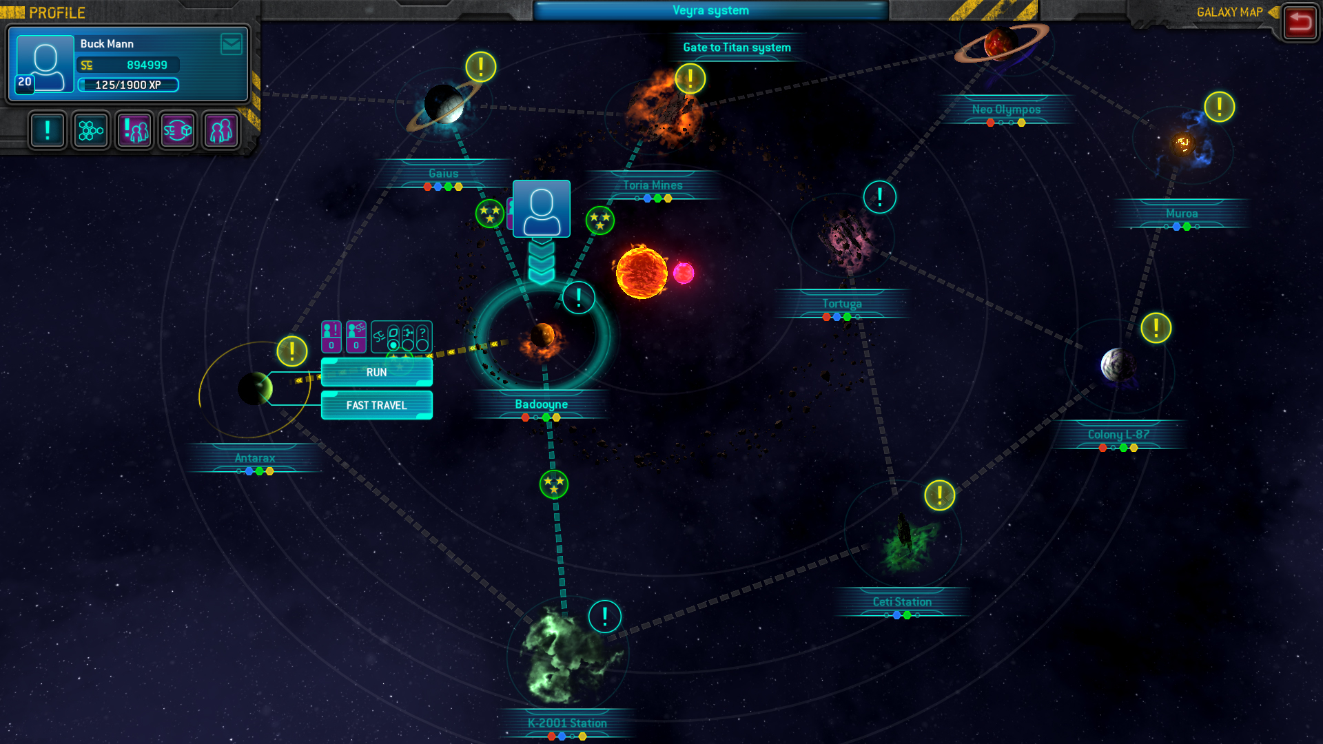 Space Run Galaxy Screenshot 2