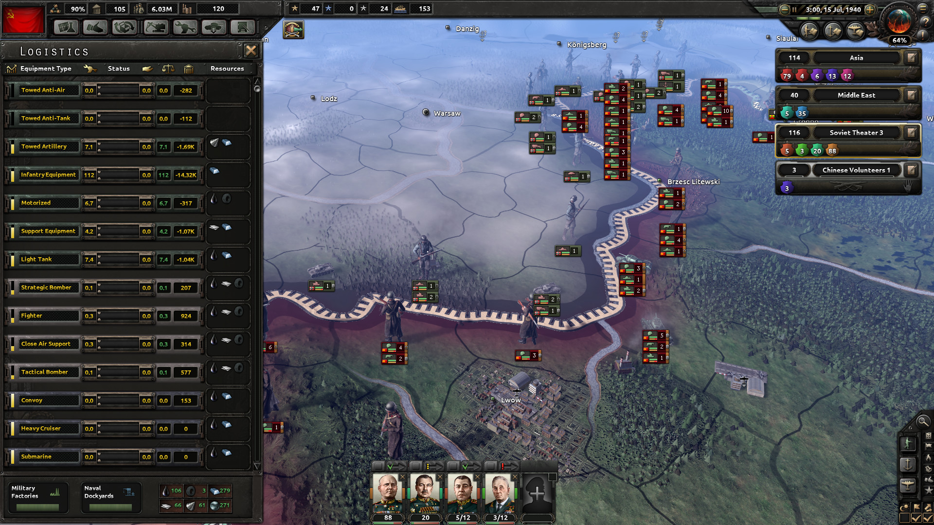 Hearts of Iron IV Screenshot 1