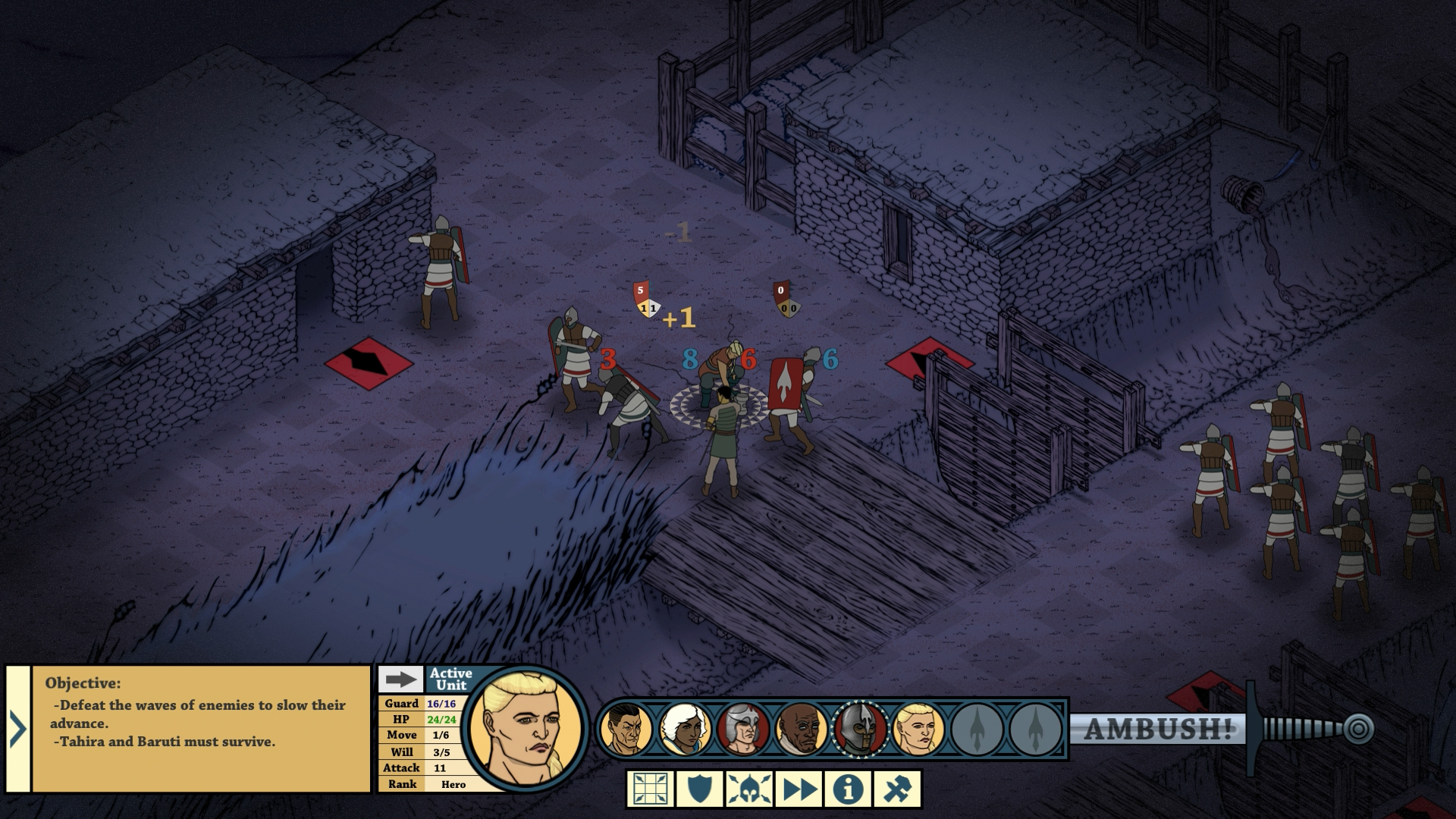 Tahira: Echoes of the Astral Empire Screenshot 3