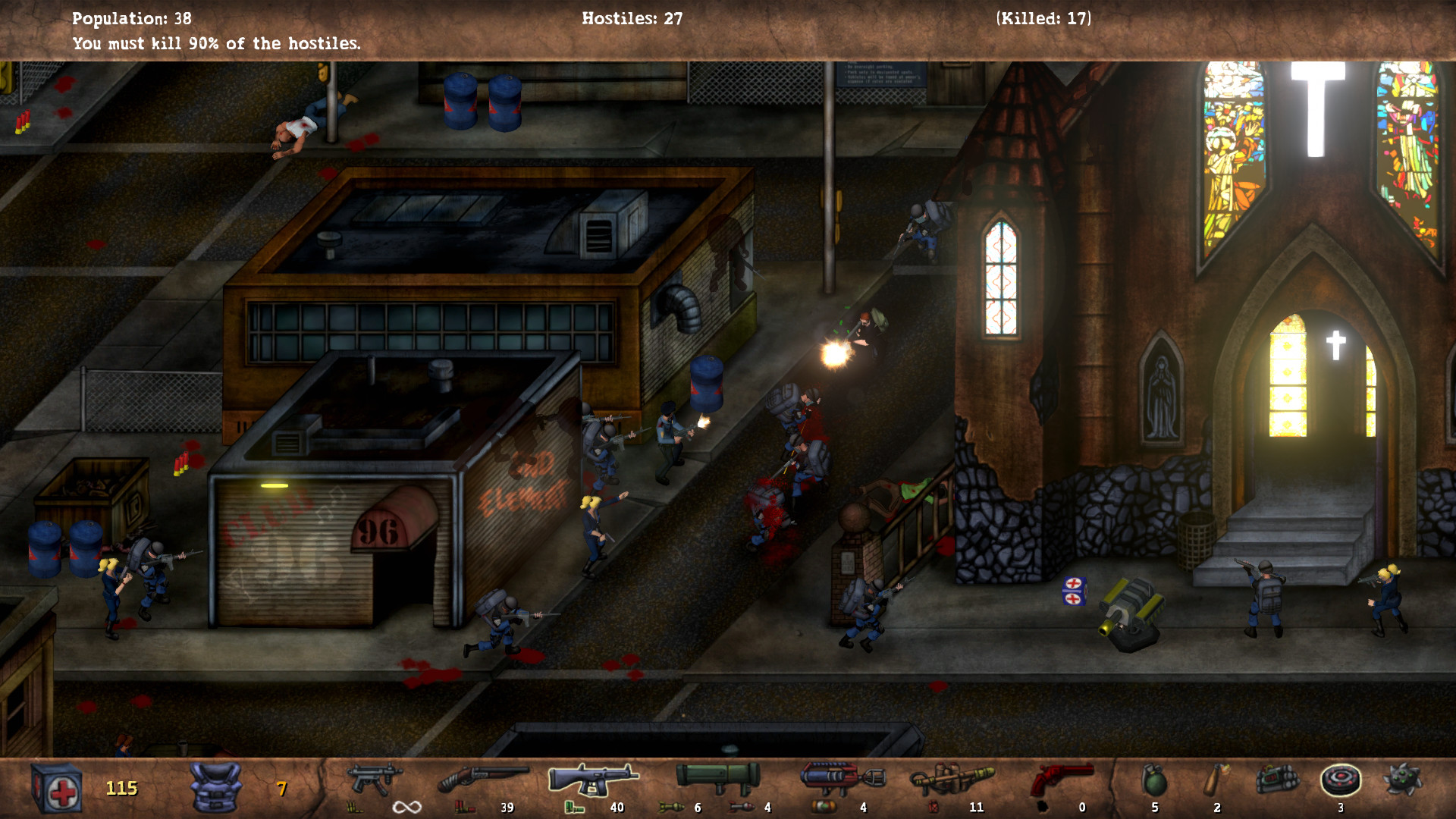 POSTAL Redux Screenshot 1