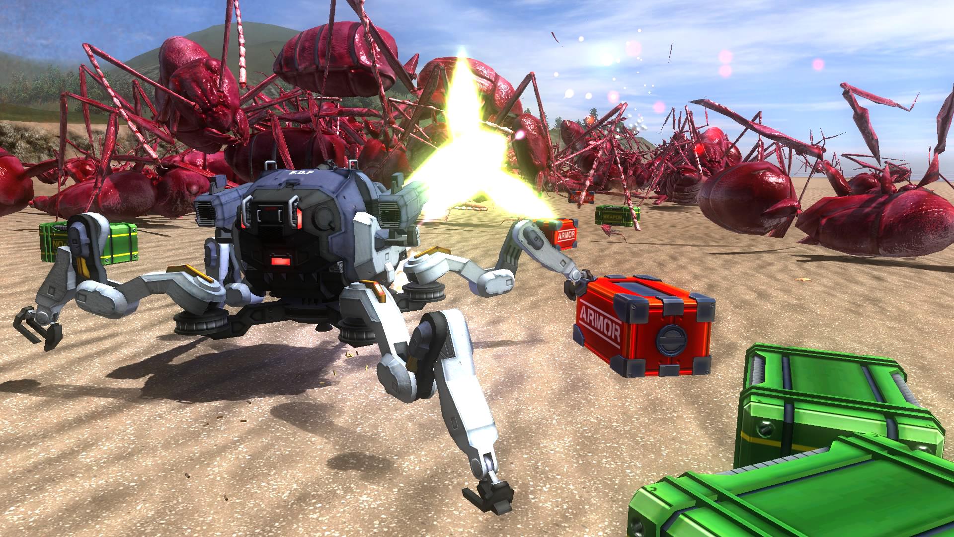 EARTH DEFENSE FORCE 4.1 The Shadow of New Despair Screenshot 2