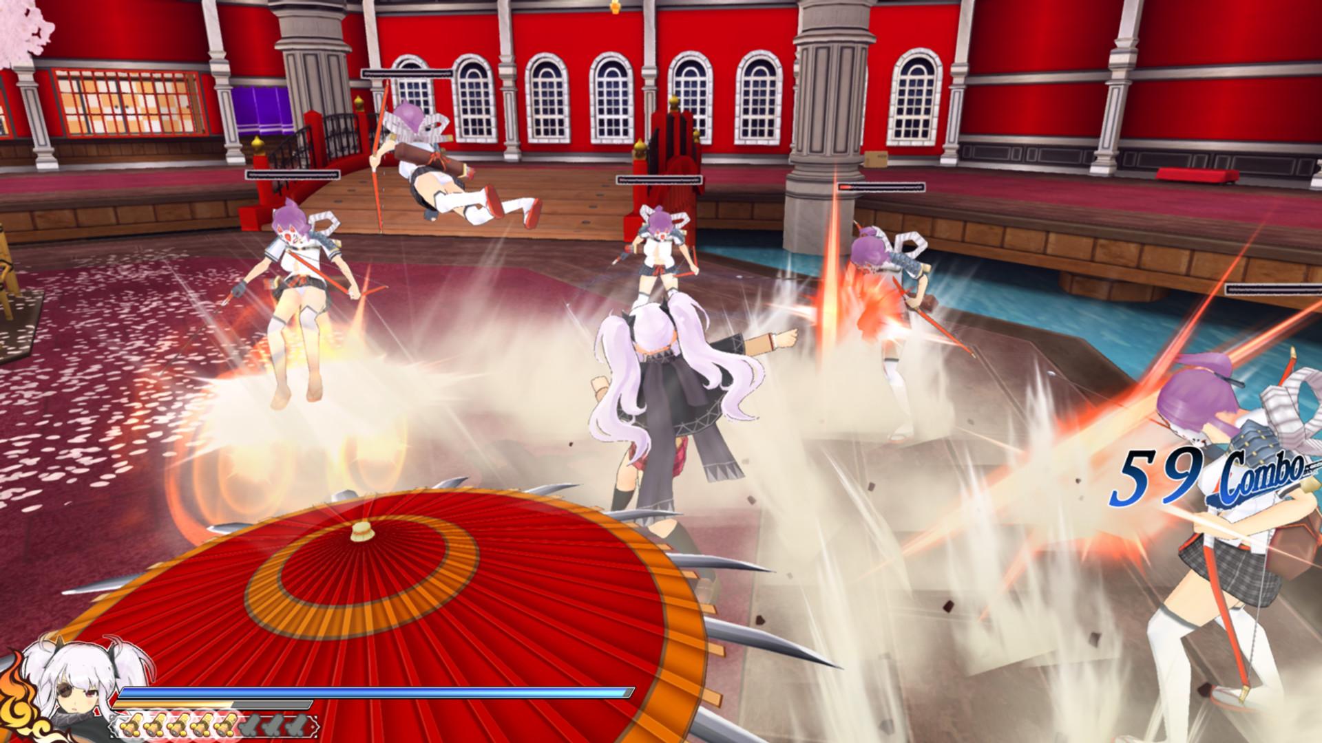 Senran Kagura: Shinovi Versus Screenshot 2