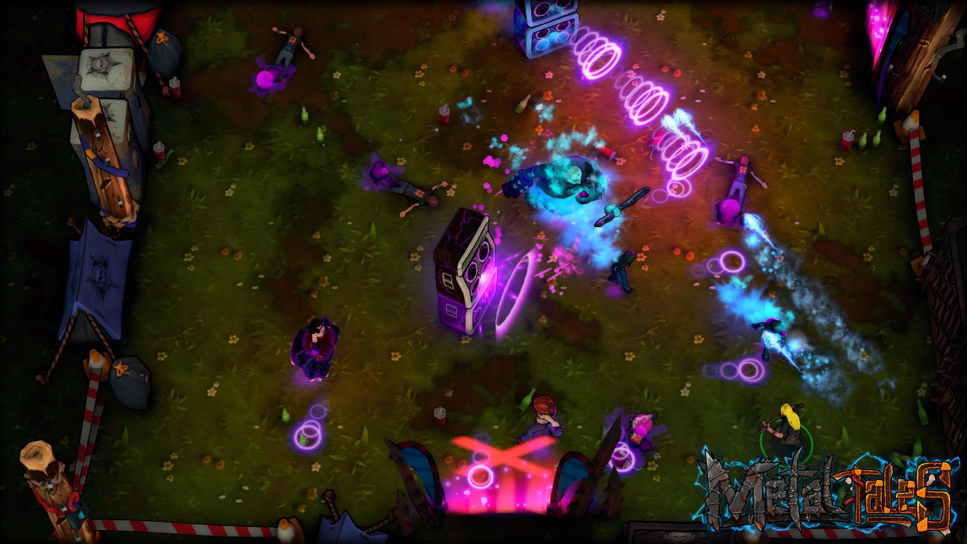 Metal Tales: Fury of the Guitar Gods Screenshot 1