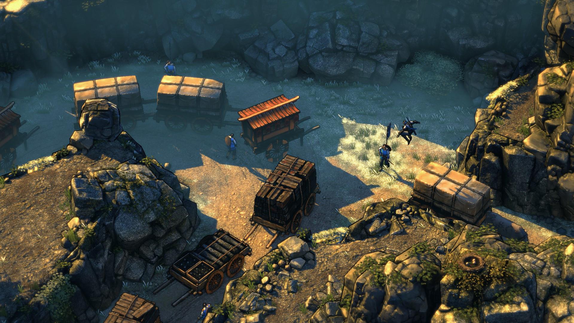 Shadow Tactics: Blades of the Shogun Screenshot 2