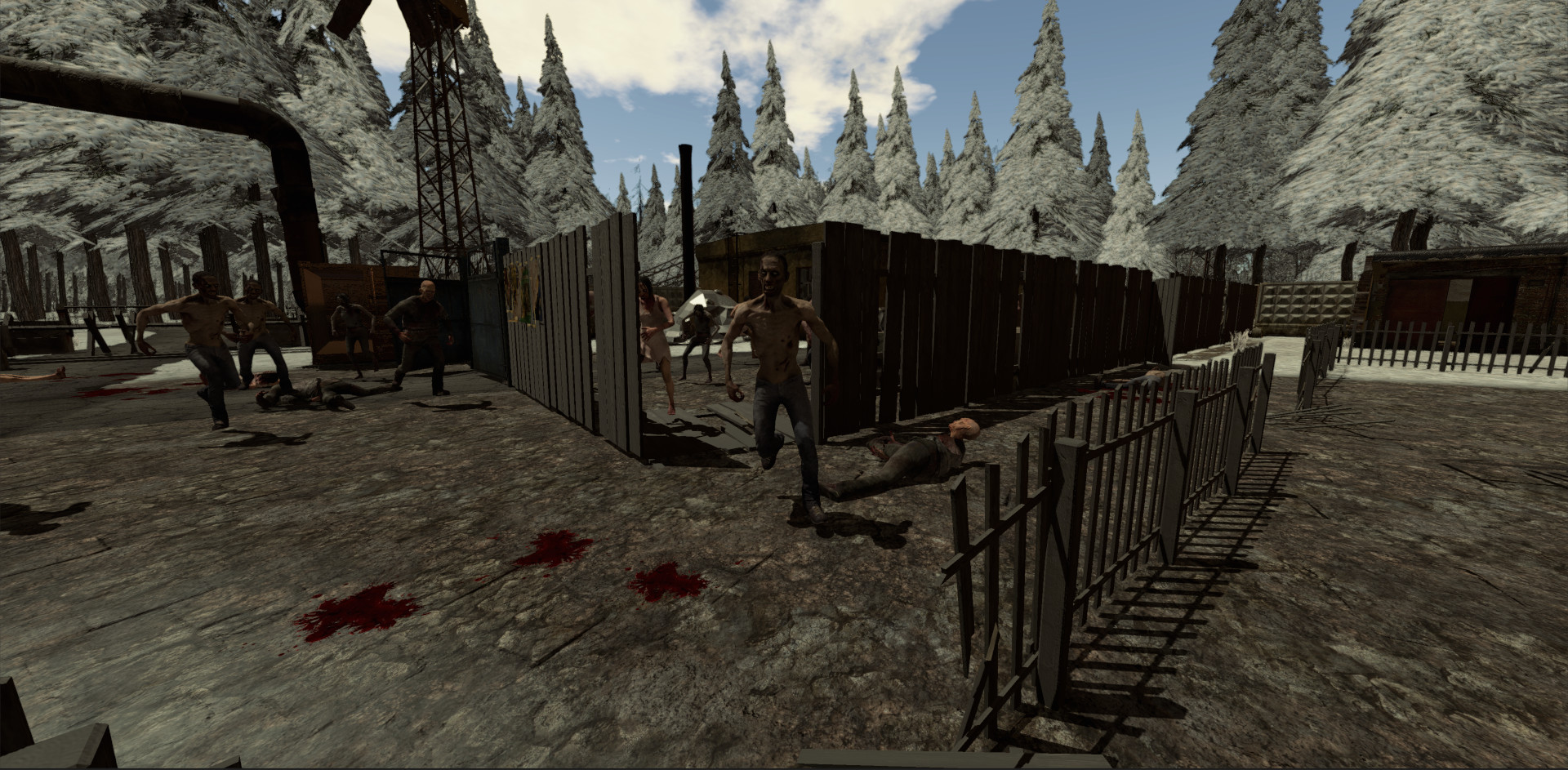 Survival Zombies The Inverted Evolution Screenshot 2
