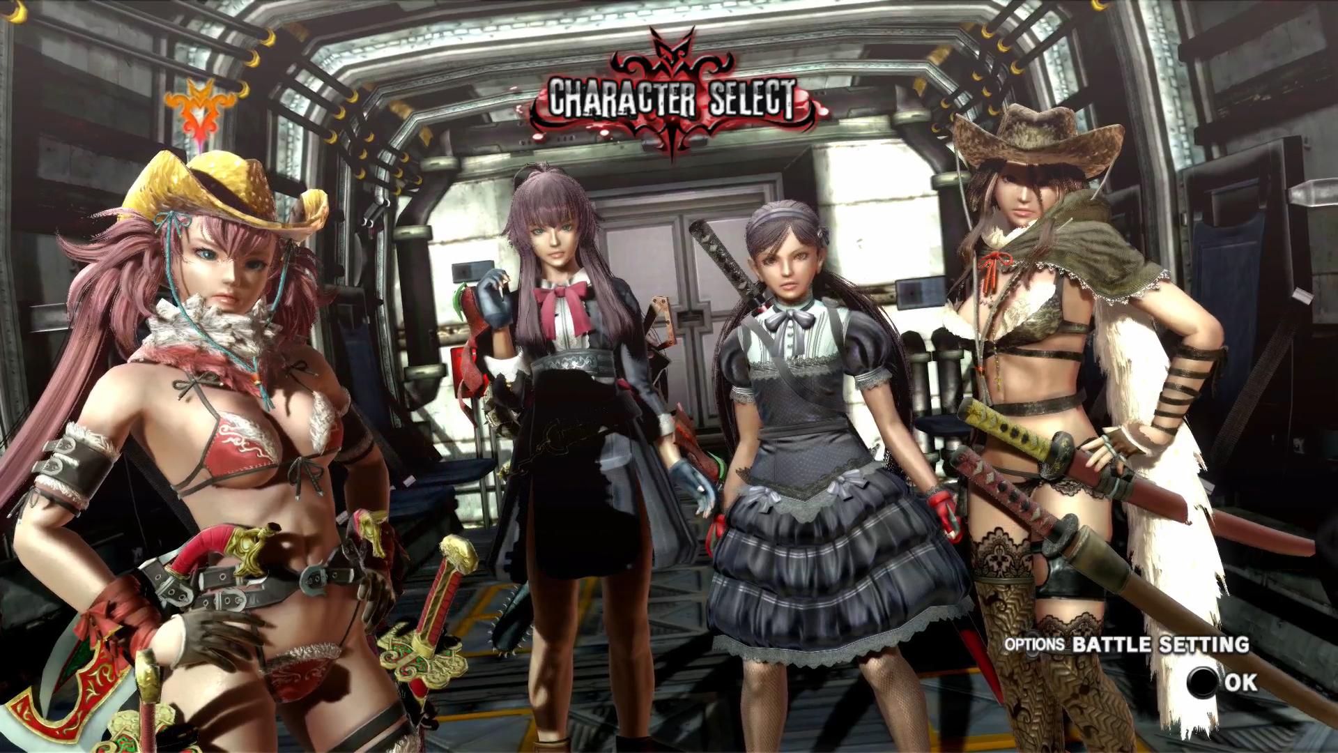 Onechanbara Z2: Chaos Screenshot 1
