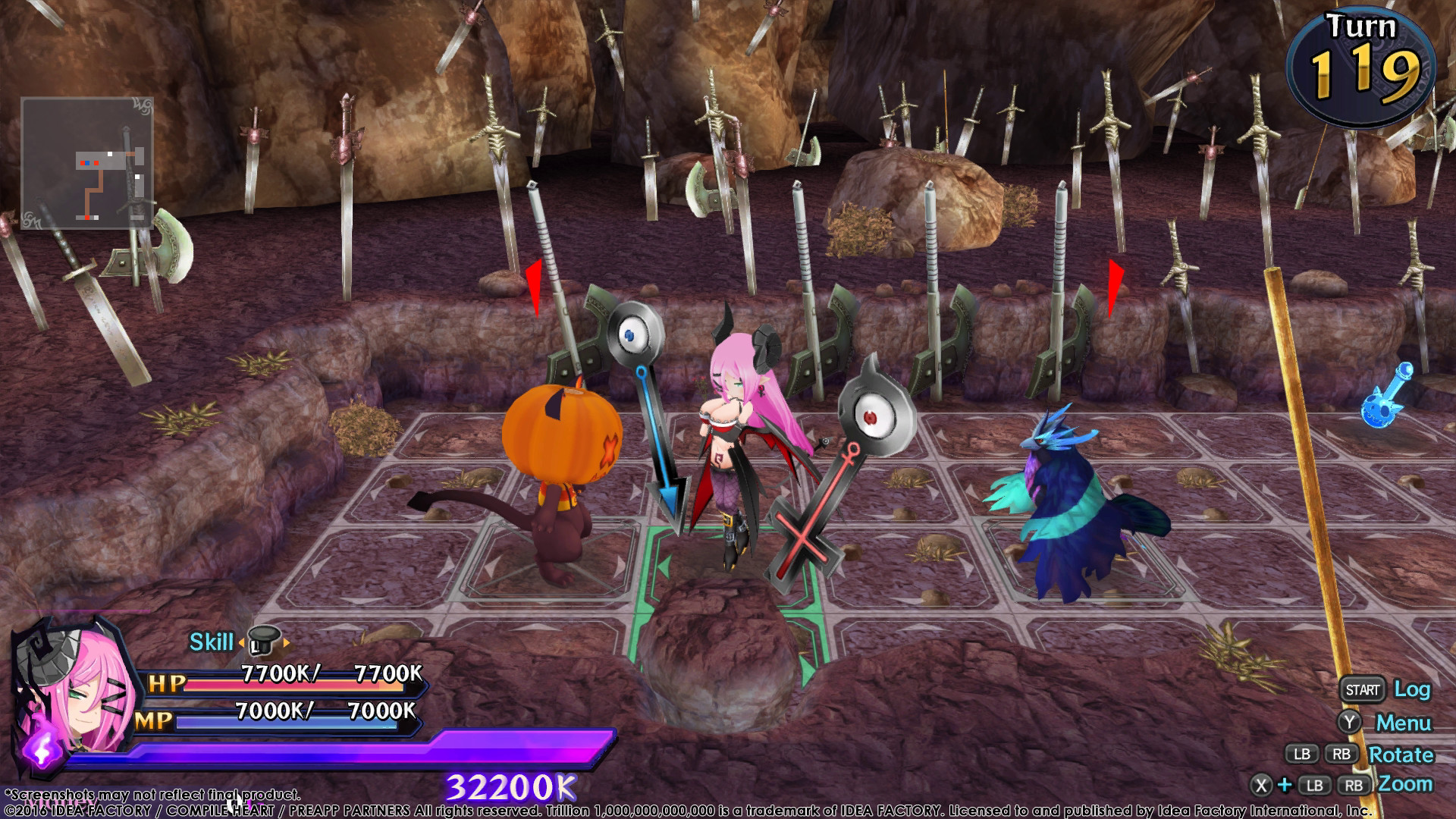 Trillion: God of Destruction Screenshot 2