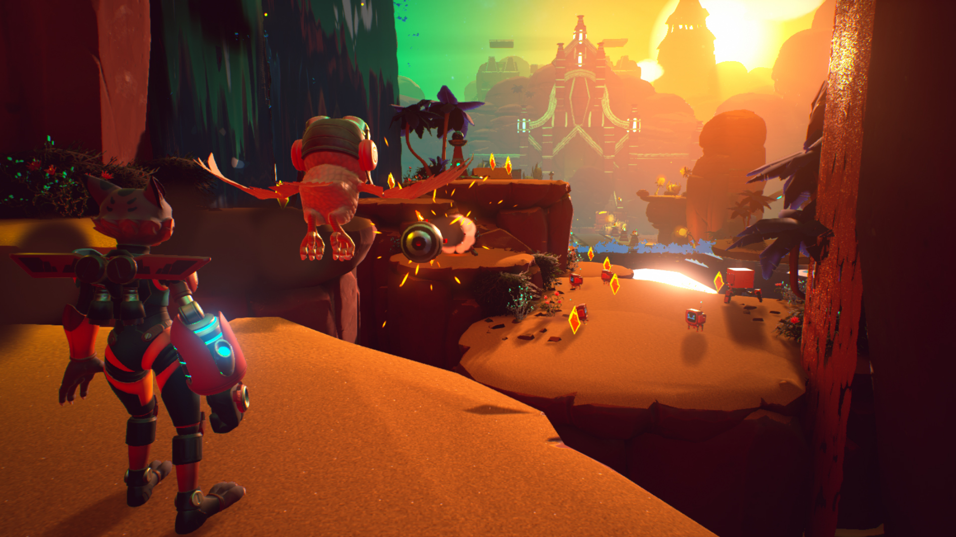 Skylar & Plux: Adventure On Clover Island Screenshot 1