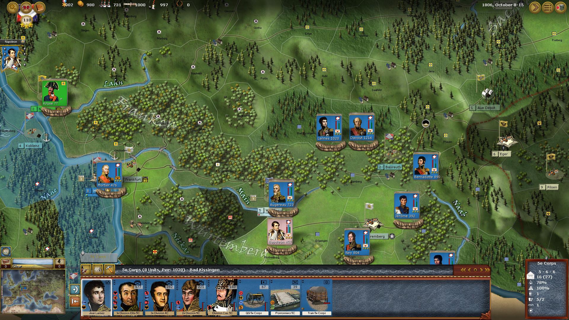 Wars of Napoleon Screenshot 1