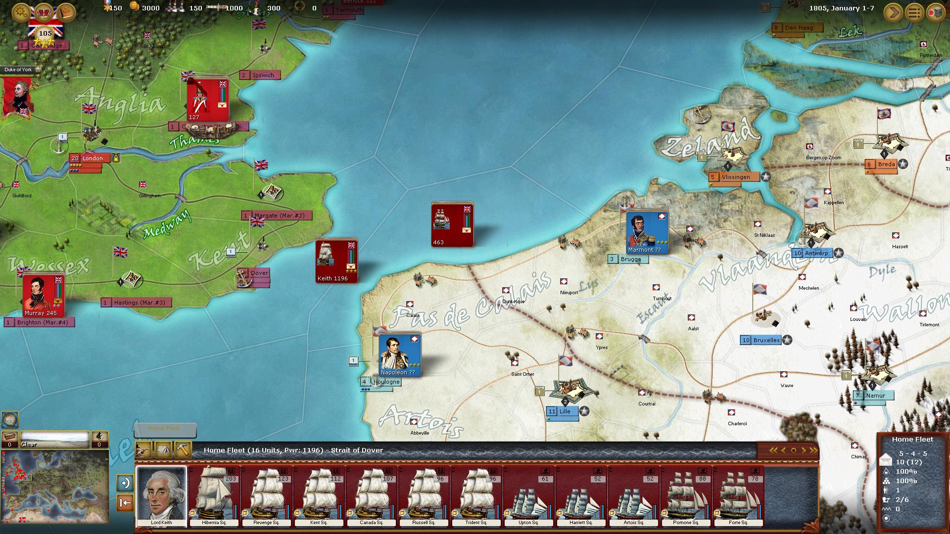 Wars of Napoleon Screenshot 3