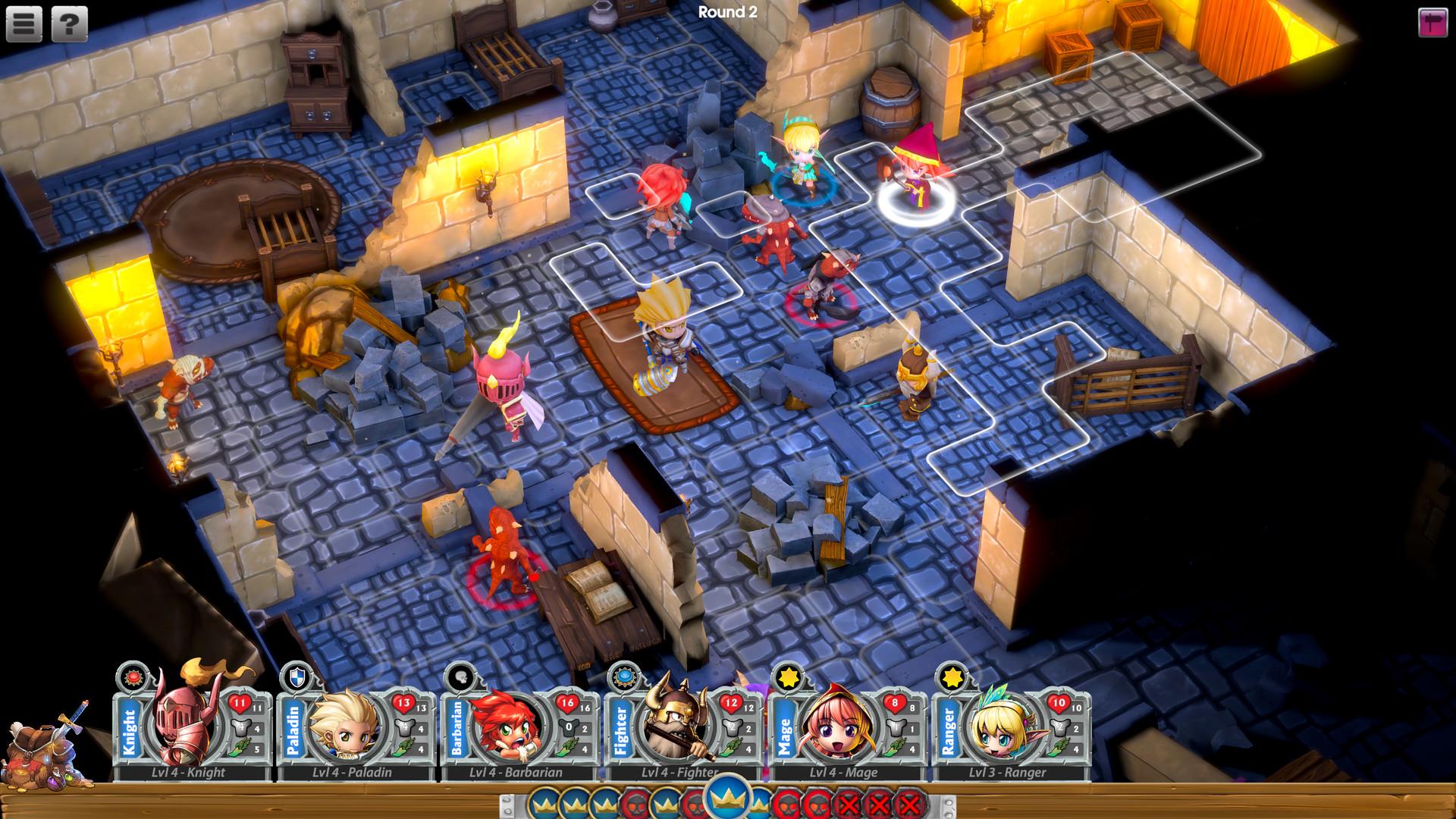 Super Dungeon Tactics Screenshot 3