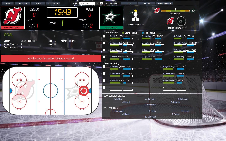 Franchise Hockey Manager 3 Screenshot 2