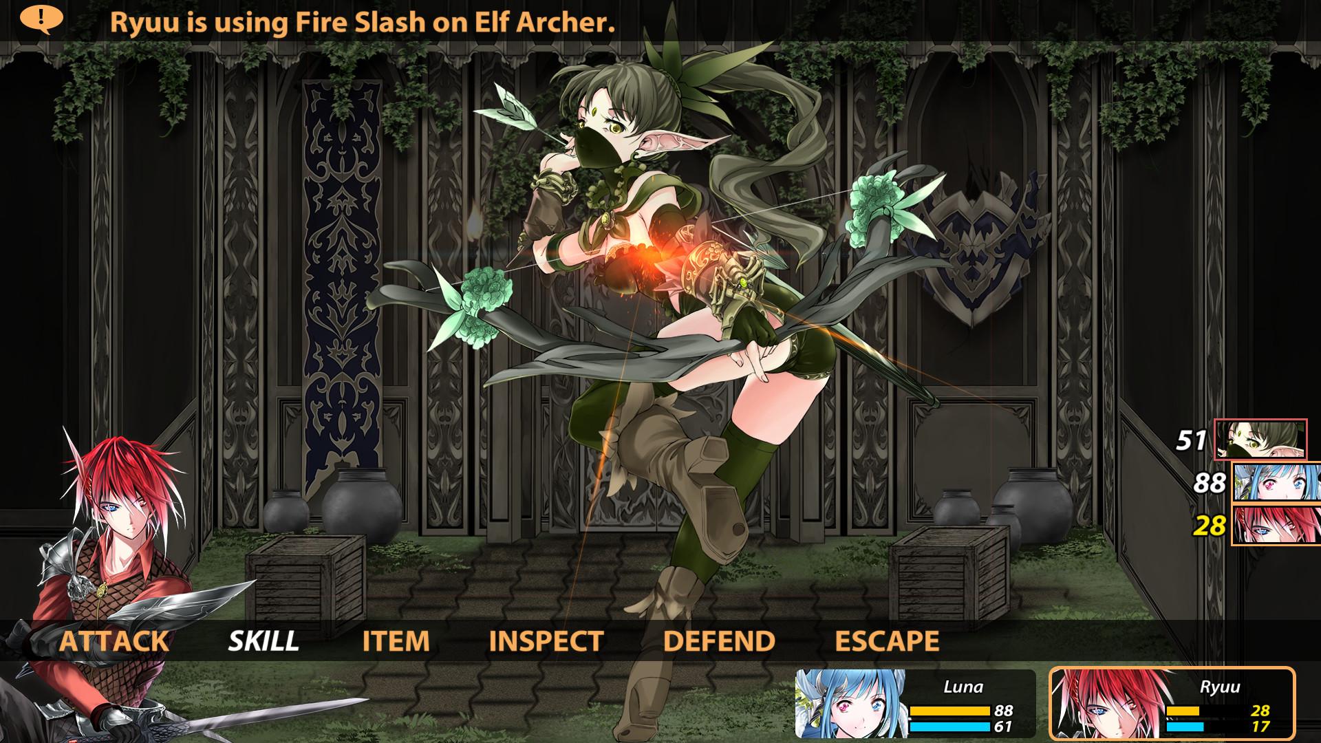 Winged Sakura: Demon Civil War Screenshot 1