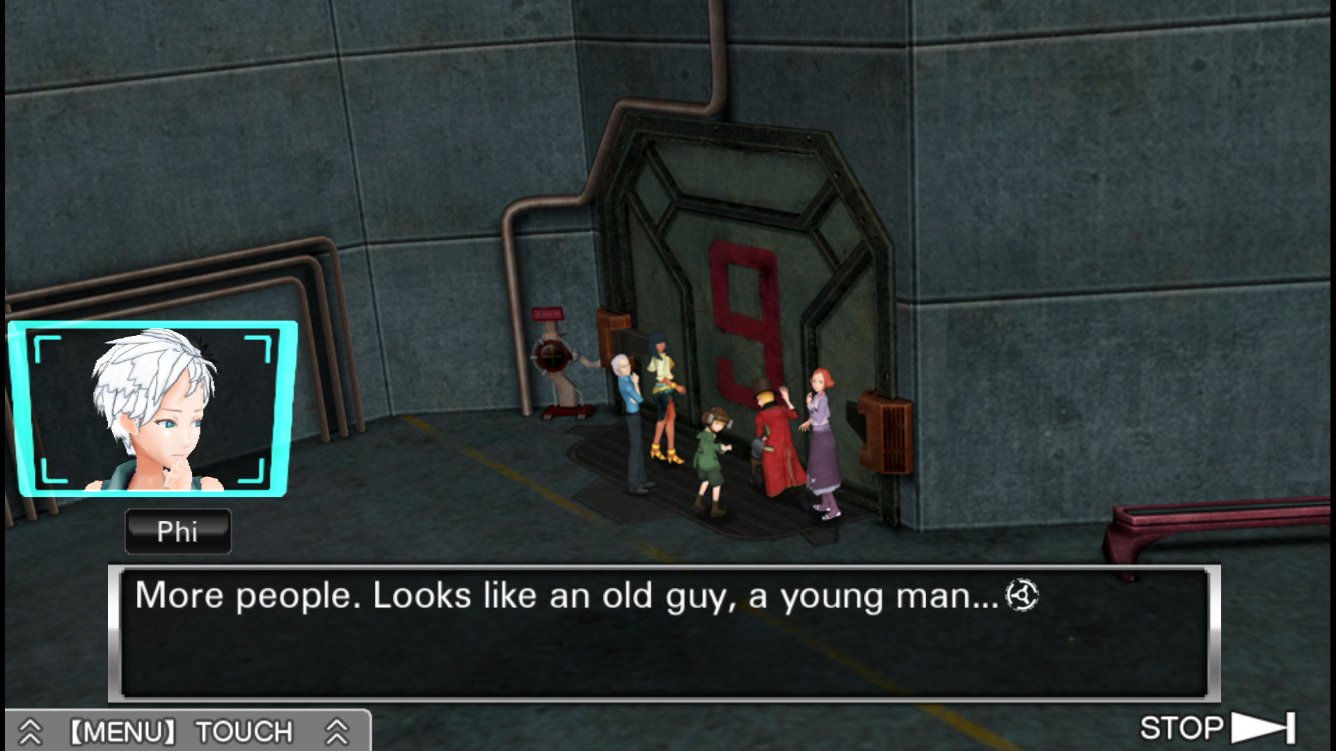 Zero Escape: The Nonary Games Screenshot 2