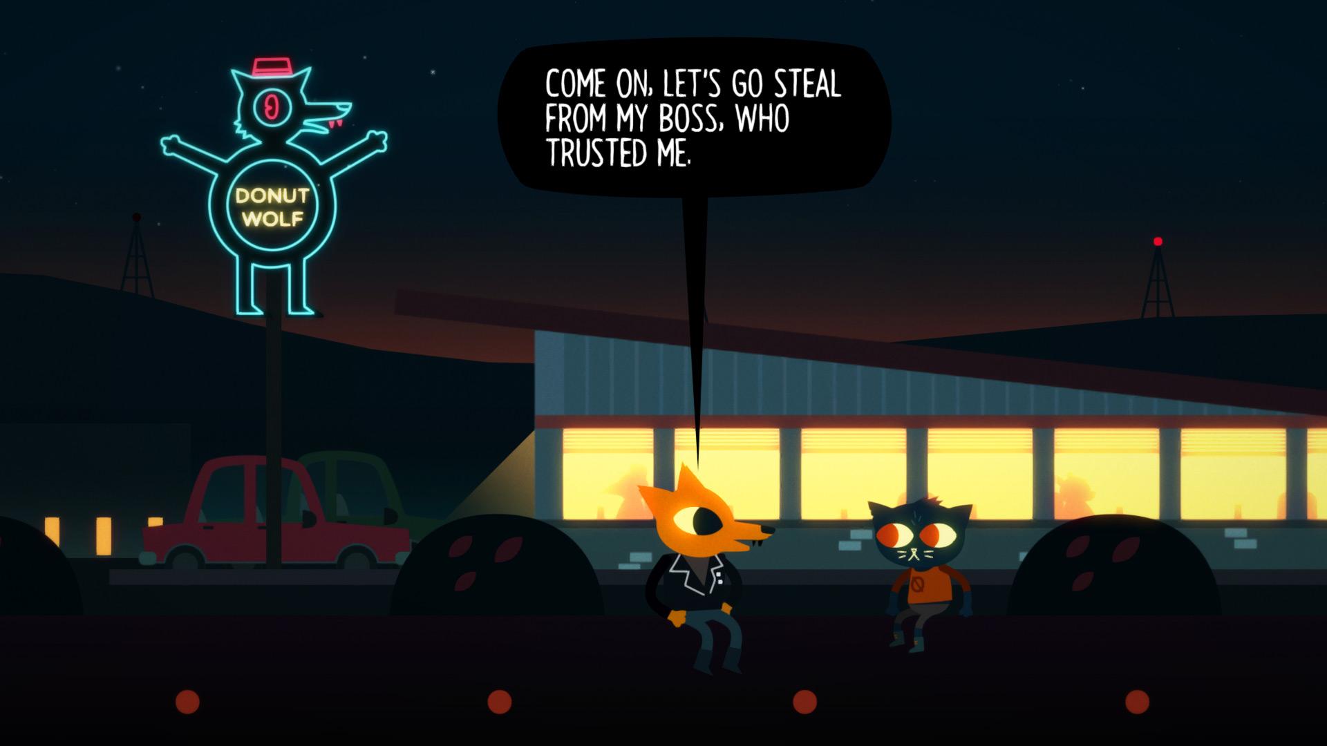 Night in the Woods Screenshot 2