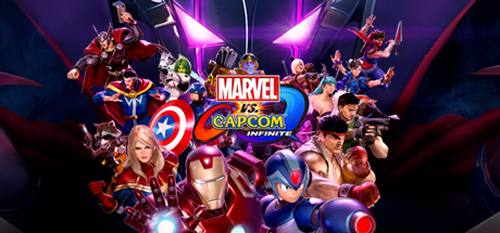 Marvel vs Capcom Infinite-CODEX Capa