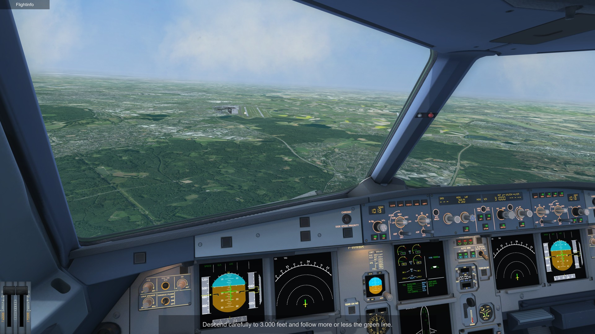 Ready for Take off - A320 Simulator Screenshot 2