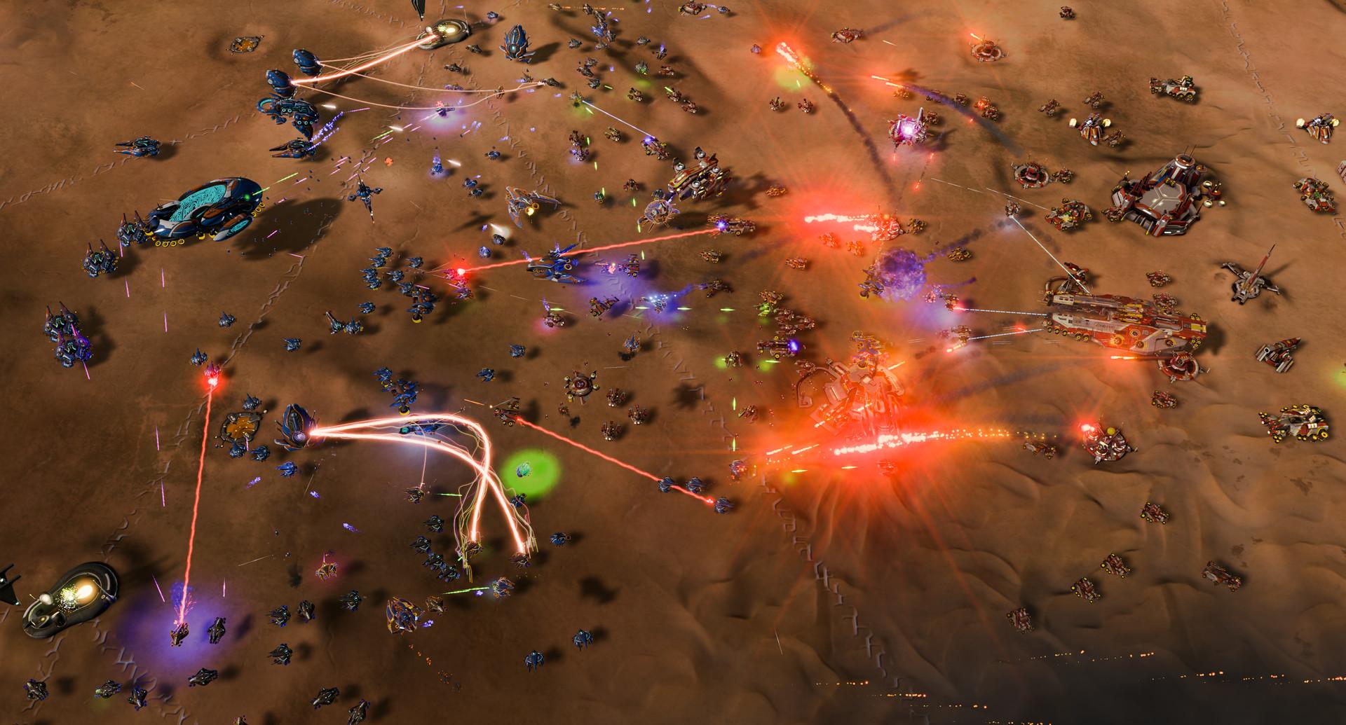 Ashes of the Singularity: Escalation Screenshot 1