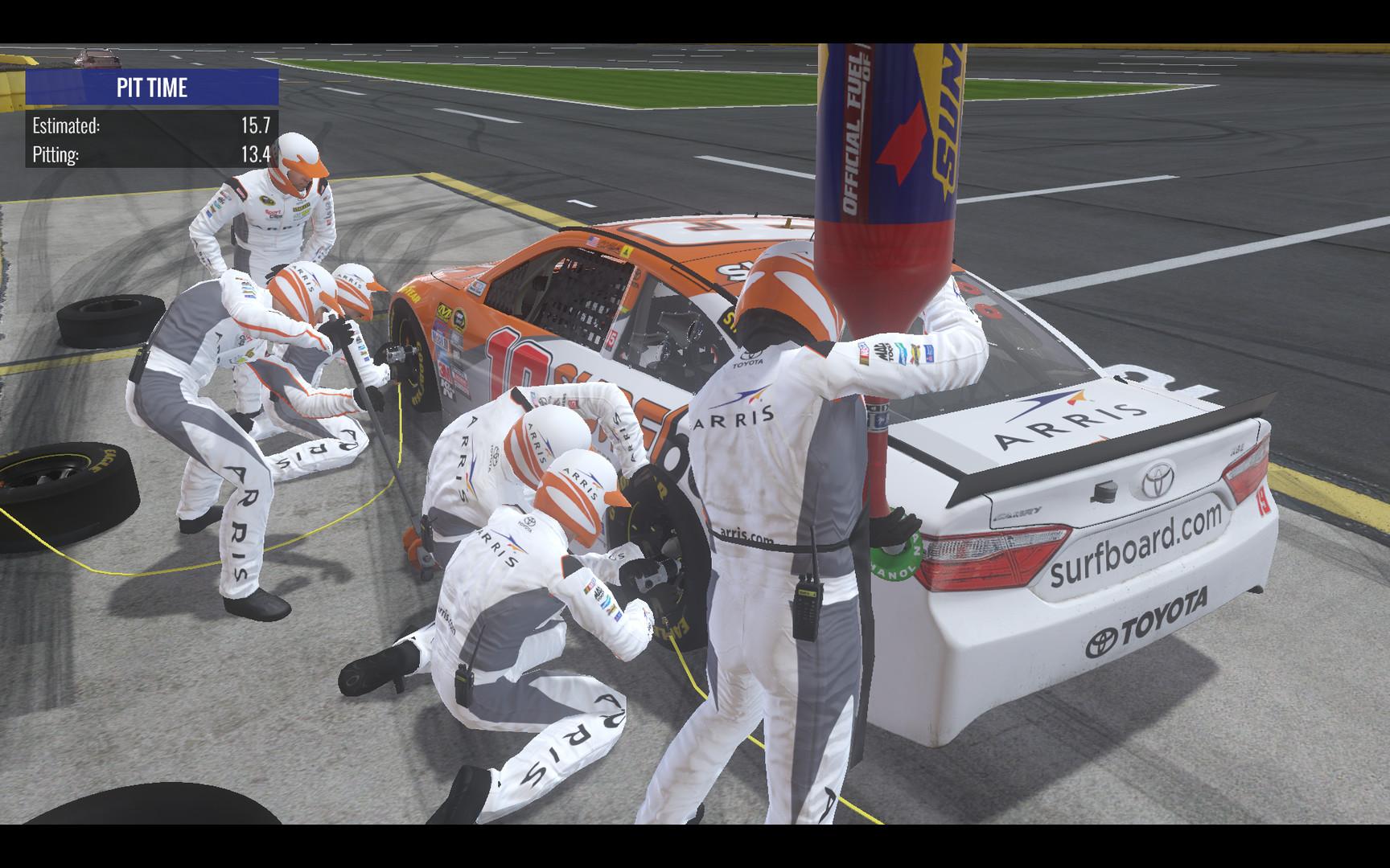 NASCAR Heat Evolution Screenshot 3