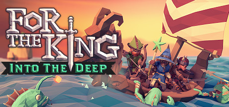 For The King Into The Deep [PT-BR] Capa