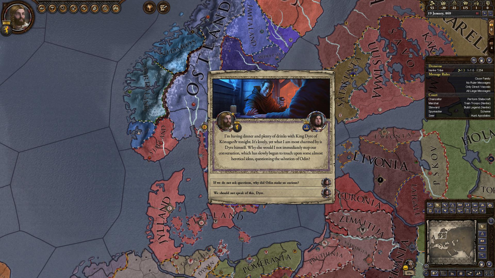 Crusader Kings II: Monks and Mystics Screenshot 3