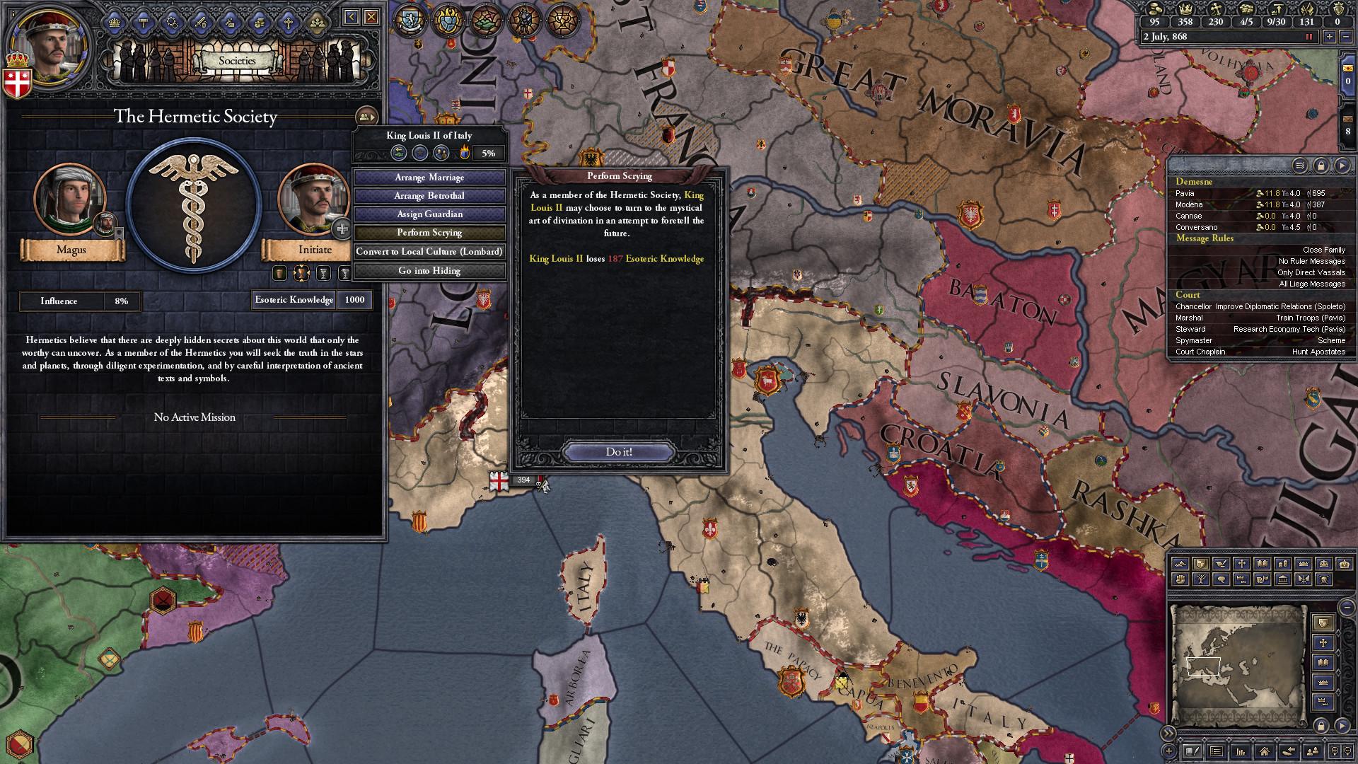 Crusader Kings II: Monks and Mystics Screenshot 2