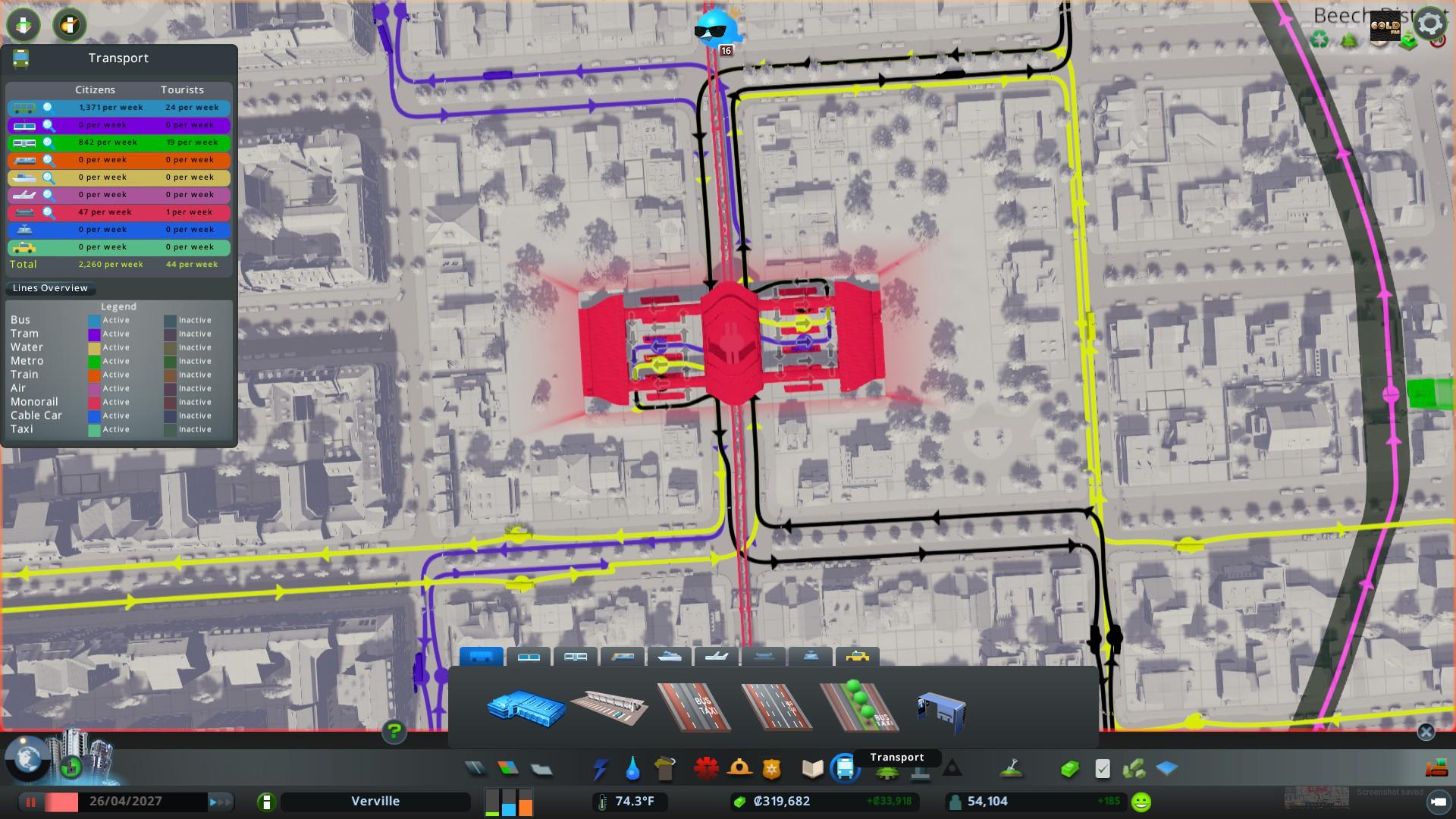 Cities: Skylines - Mass Transit Screenshot 3