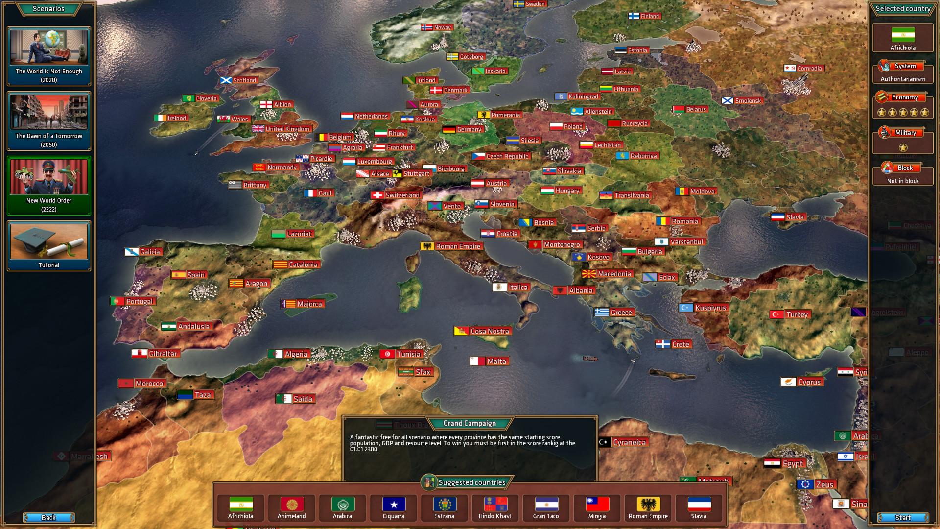 Realpolitiks Screenshot 1