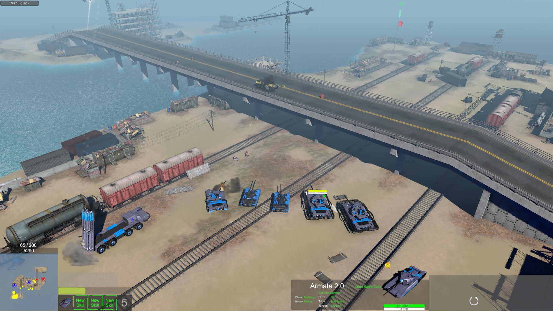 Armor Clash II Screenshot 1