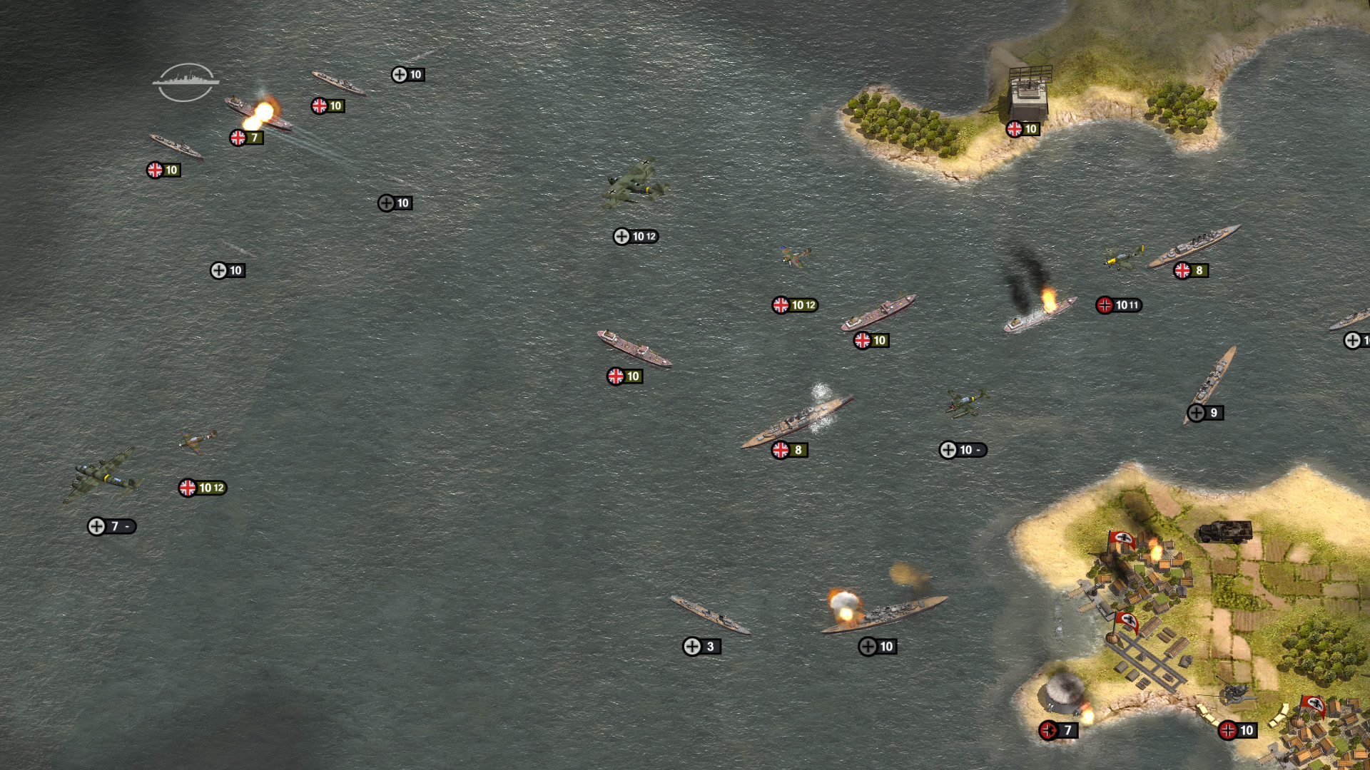 Order of Battle: Kriegsmarine Screenshot 2