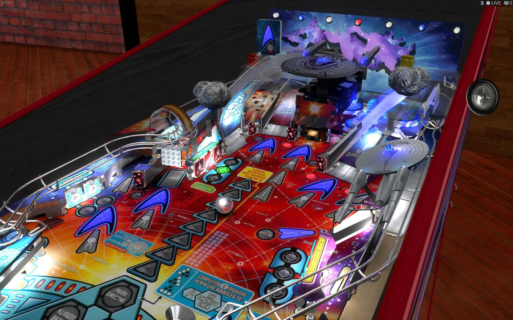 Stern Pinball Arcade: Star Trek Screenshot 2