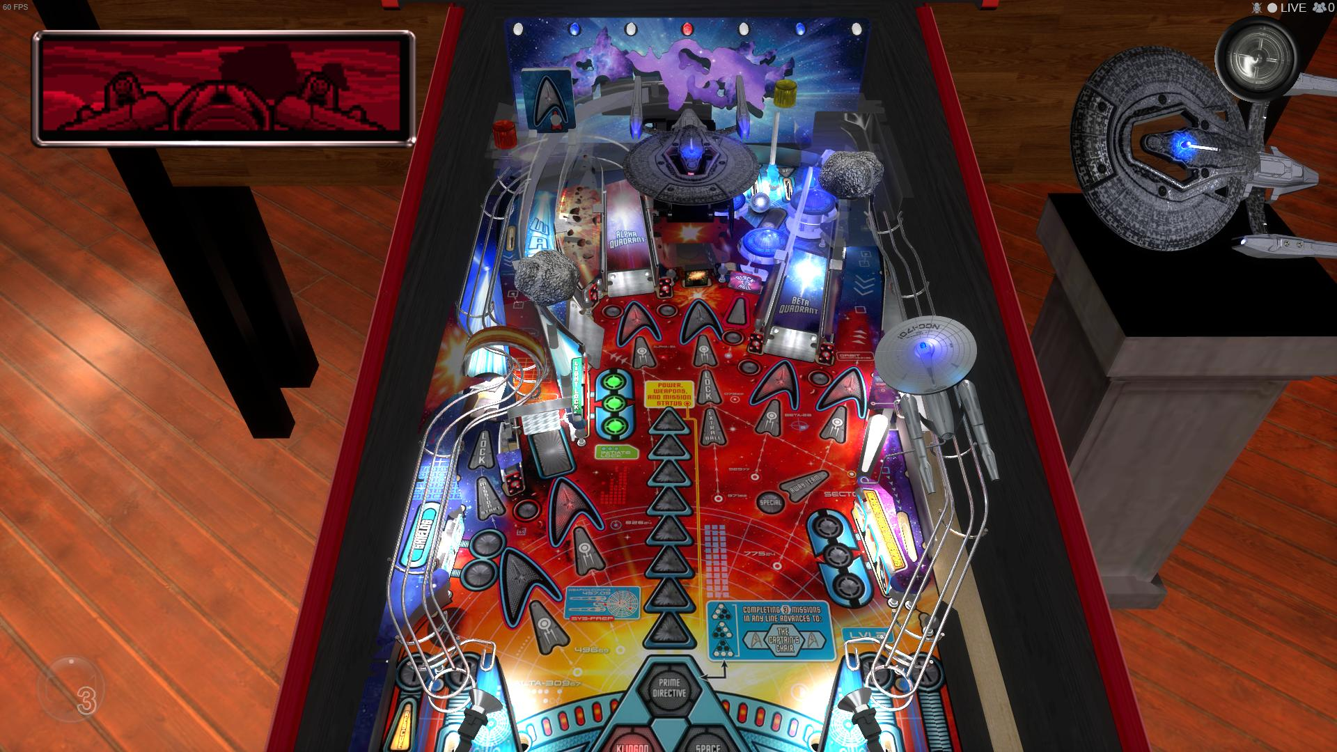 Stern Pinball Arcade: Star Trek Screenshot 3