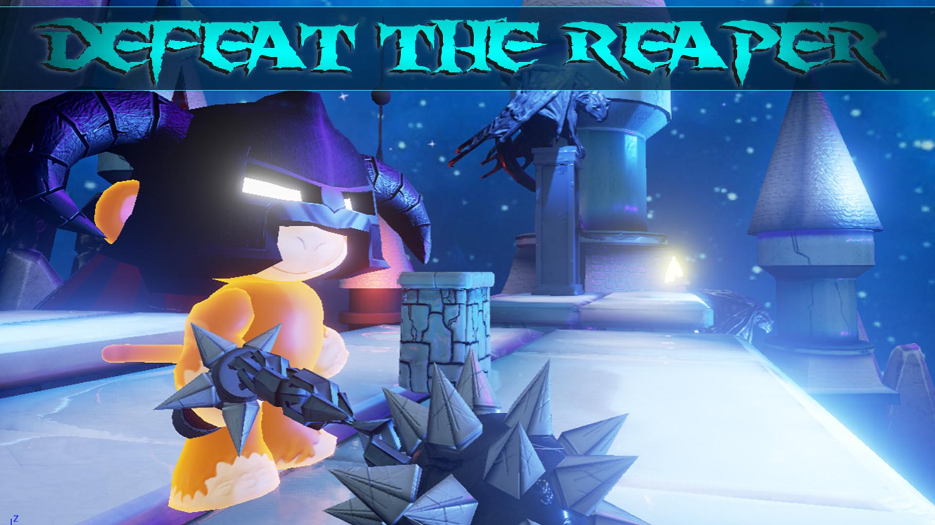Monkey Land 3D: Reaper Rush Screenshot 3