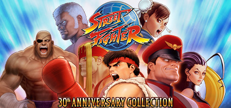 Street Fighter 30th Anniversary Collection PT-BR Capa