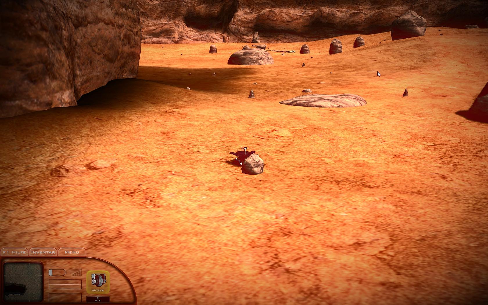 Mars Simulator - Red Planet Screenshot 2