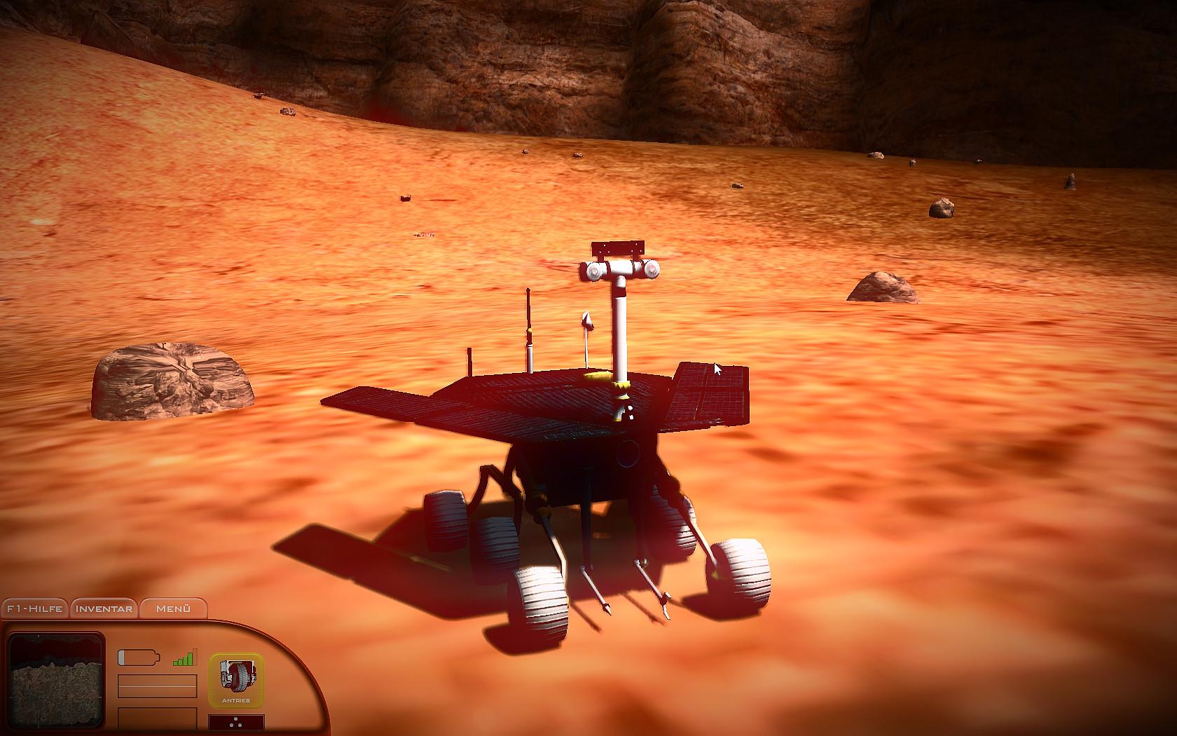 Mars Simulator - Red Planet Screenshot 3