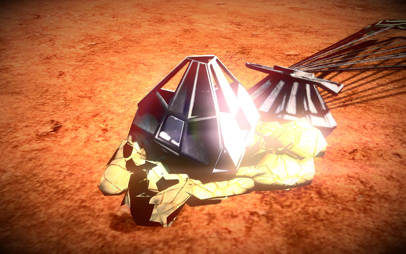 Mars Simulator - Red Planet Screenshot 1