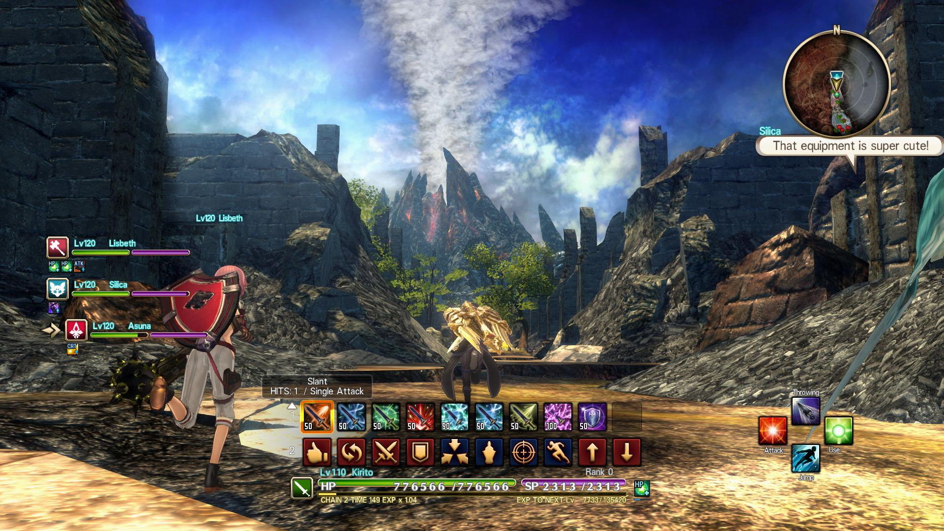 Sword Art Online: Hollow Realization Deluxe Edition Screenshot 1